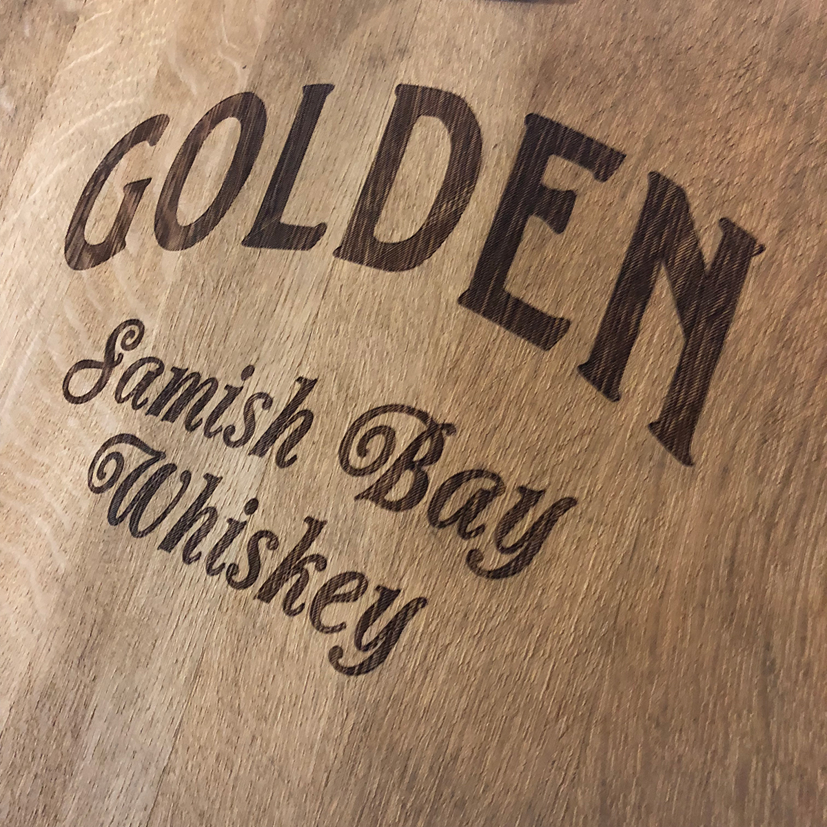 Golden Samish Bay Whiskey