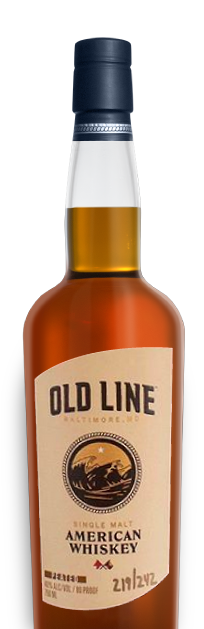 Old Line American Single Malt Whiskey Peated