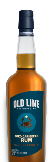 Old Line Spirits Aged Caribbean Rum Navy Strength