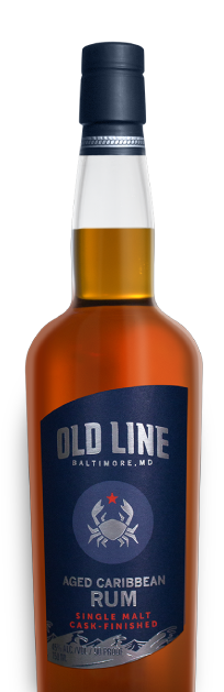 Old Line Spirits Aged Caribbean Rum Single Malt Cask Finished