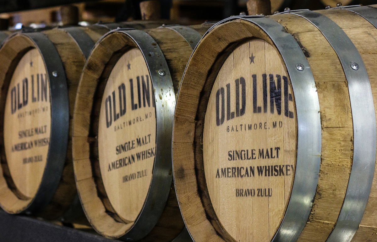 Old Line Spirits Distillery Tours and Tastings in Baltimore Maryland