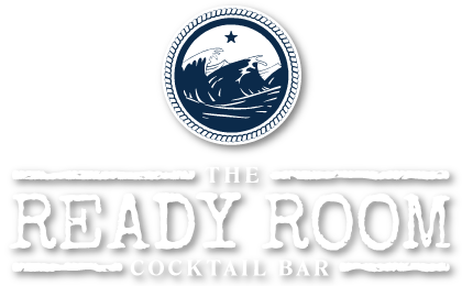 The Ready Room Cocktail Bar Logo on White