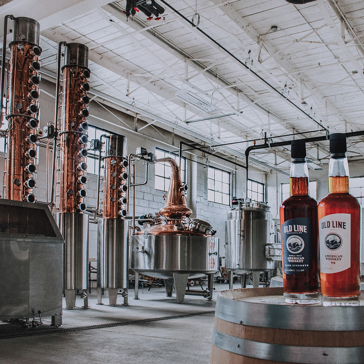 Old Line Distillery Baltimore Md Whiskey and Rum