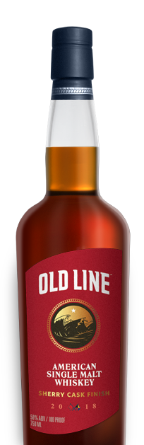 Old Line American Single Malt Whiskey Sherry Cask Finish