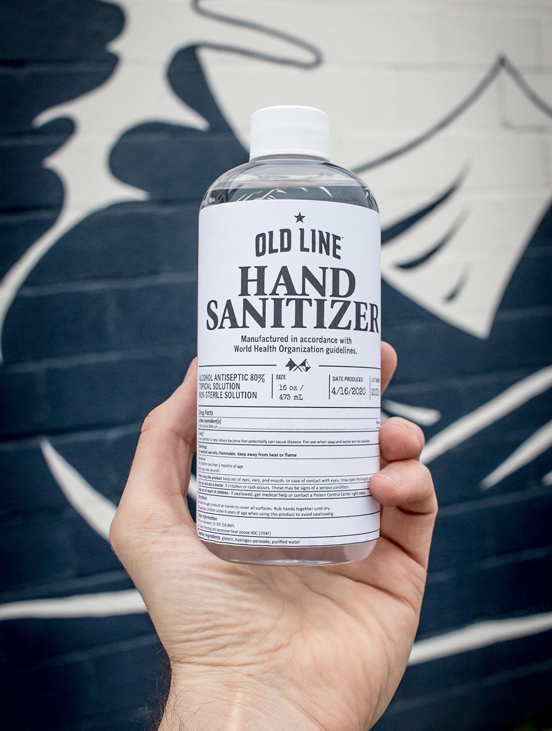 Old Line Hand Sanitizer