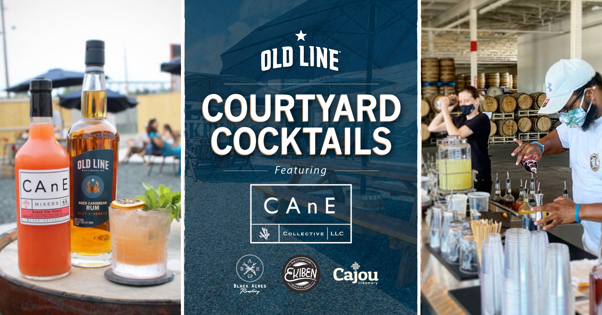 Courtyard Cocktails Cane Collective