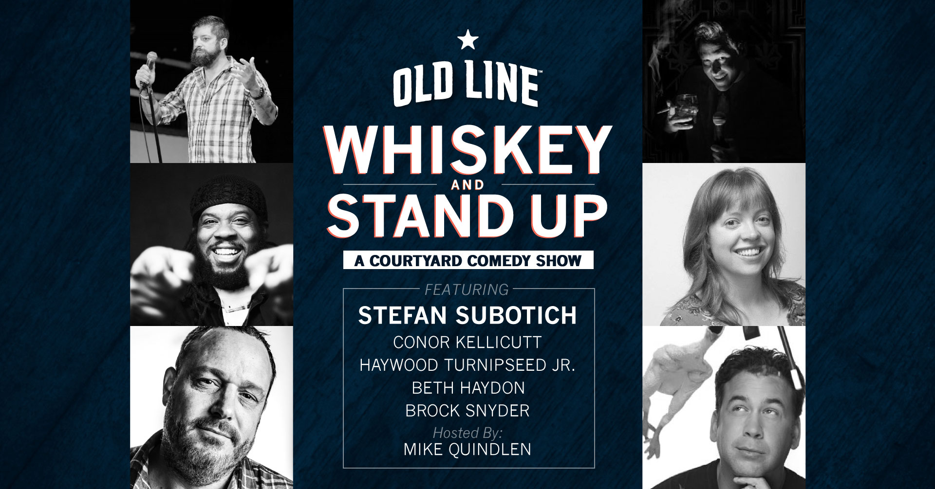 Whiskey and Stand Up Comedy At Old Line Spirits