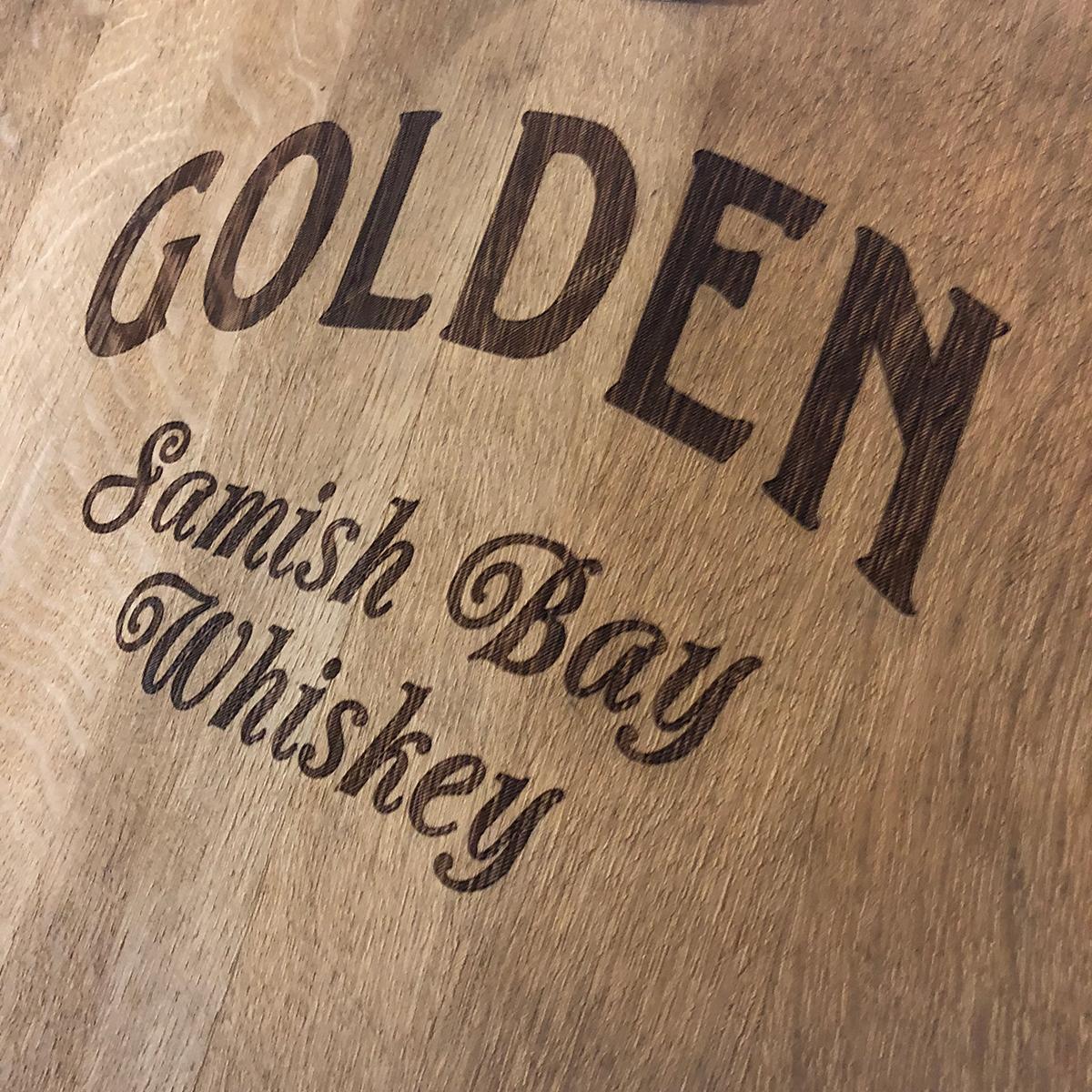 Golden Samish Bay Whiskey