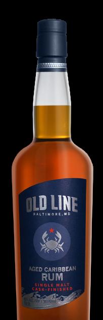 Old Line Spirits Aged Caribbean Rum Single Malt Cask Finished