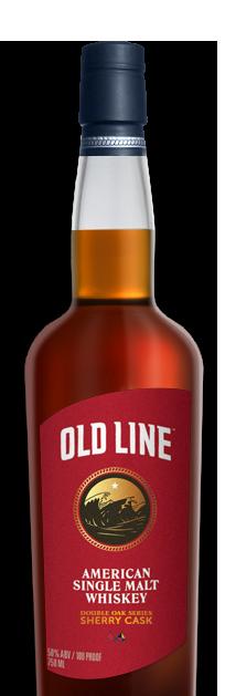 Old Line American Single Malt Whiskey Double Oak Series Sherry Cask