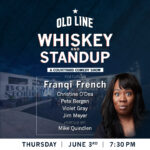 Whiskey Standup at Old Line