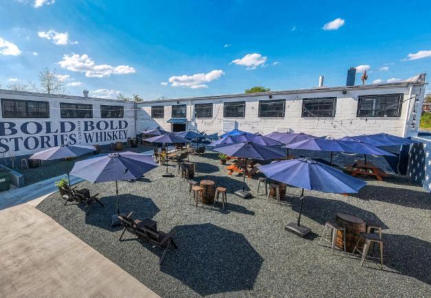 The Flight Deck Courtyard Bar