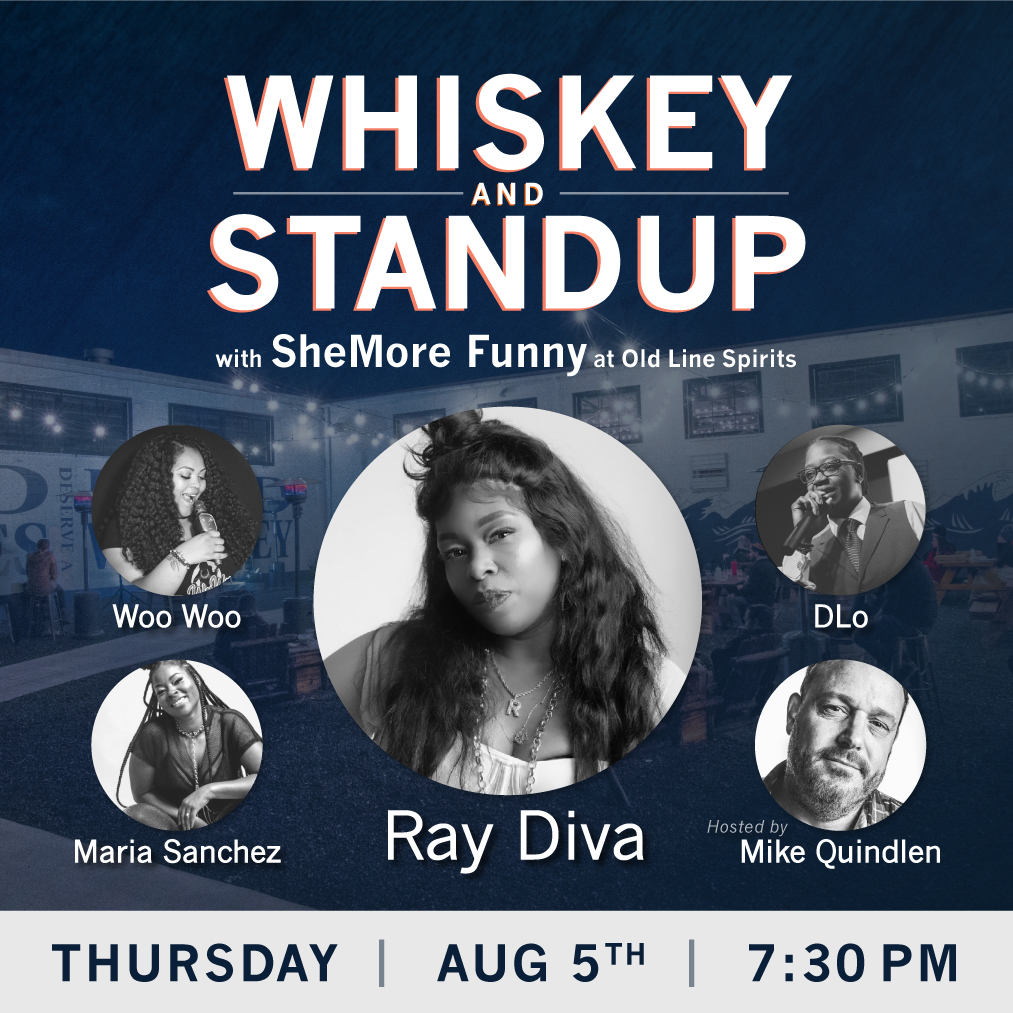 Whiskey and Standup at Old Line