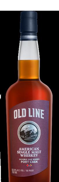 Old Line American Single Malt Whiskey Port Cask Finish